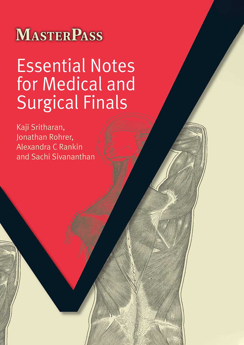 Essential Notes for Medical and Surgical Finals: 1st Edition (Paperback) book cover