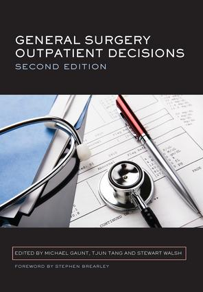 General Surgery Outpatient Decisions: 2nd Edition (Paperback) book cover