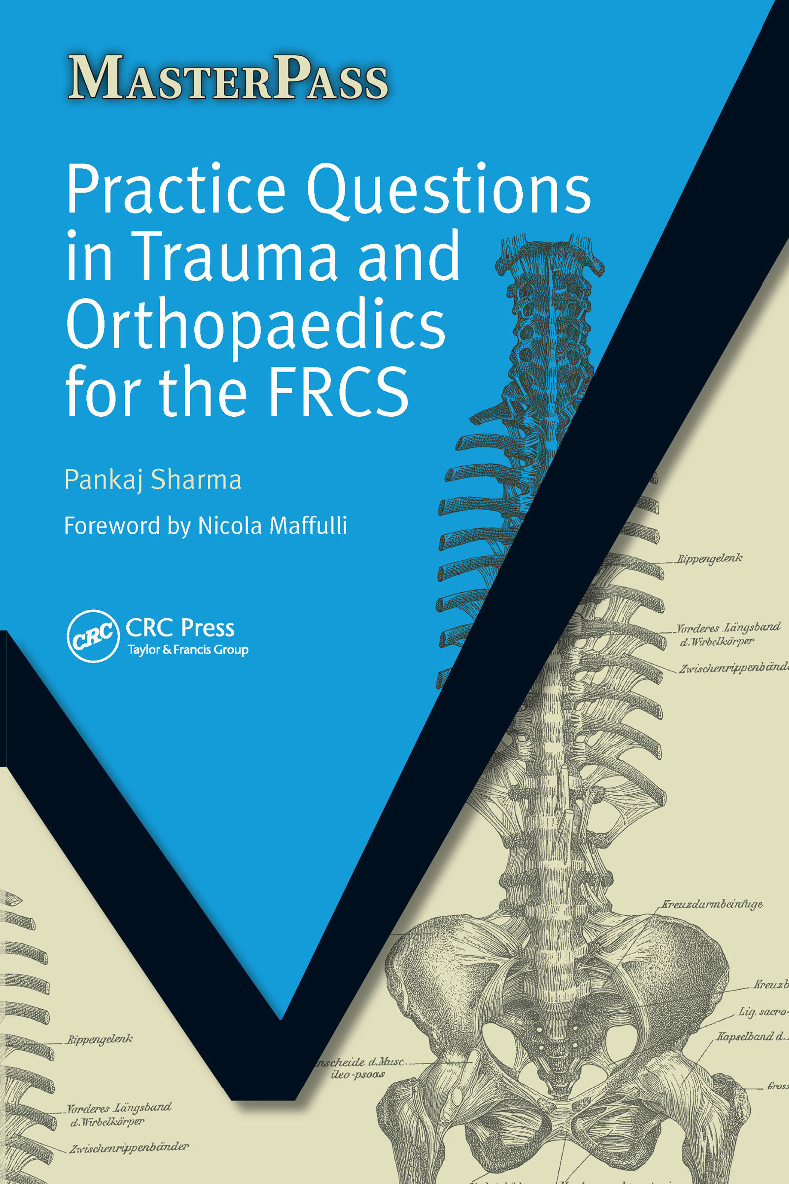 Practice Questions in Trauma and Orthopaedics for the FRCS: 1st Edition (Paperback) book cover