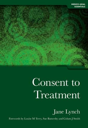Consent to Treatment: 1st Edition (Paperback) book cover
