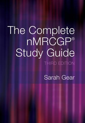 The Complete NMRCGP Study Guide: 1st Edition (Paperback) book cover