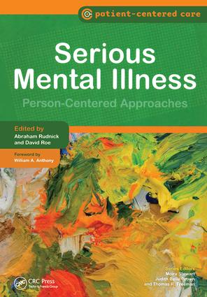 Serious Mental Illness: Person-Centered Approaches, 1st Edition (e-Book) book cover