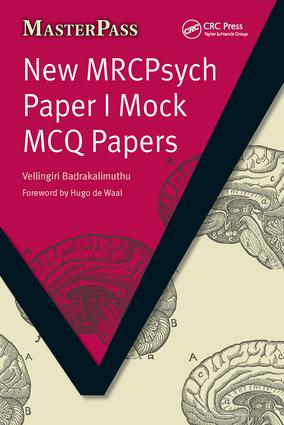 New MRCPsych Paper I Mock MCQ Papers: 1st Edition (Paperback) book cover