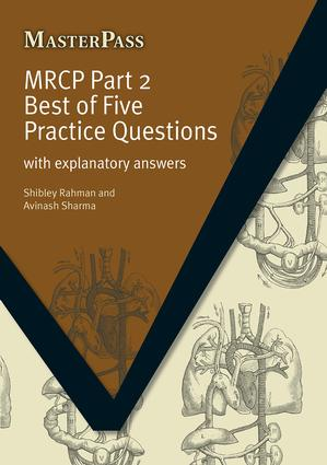 MRCP: With Explanatory Answers, 1st Edition (Paperback) book cover