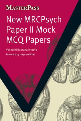 New MRCPsych Paper II Mock MCQ Papers: 1st Edition (Paperback) book cover