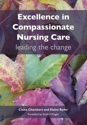 Excellence in Compassionate Nursing Care: Leading the Change, 1st Edition (Paperback) book cover