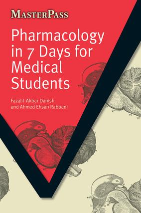 Pharmacology in 7 Days for Medical Students: 1st Edition (Paperback) book cover