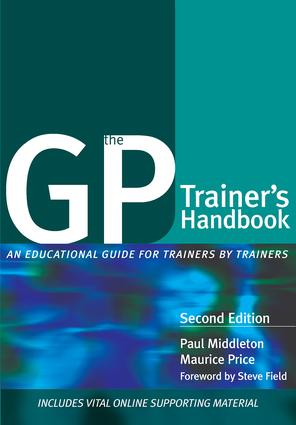 The GP Trainer's Handbook: An Educational Guide for Trainers by Trainers, 1st Edition (Paperback) book cover