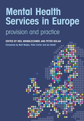 Mental Health Services in Europe: Provision and Practice, 1st Edition (Paperback) book cover