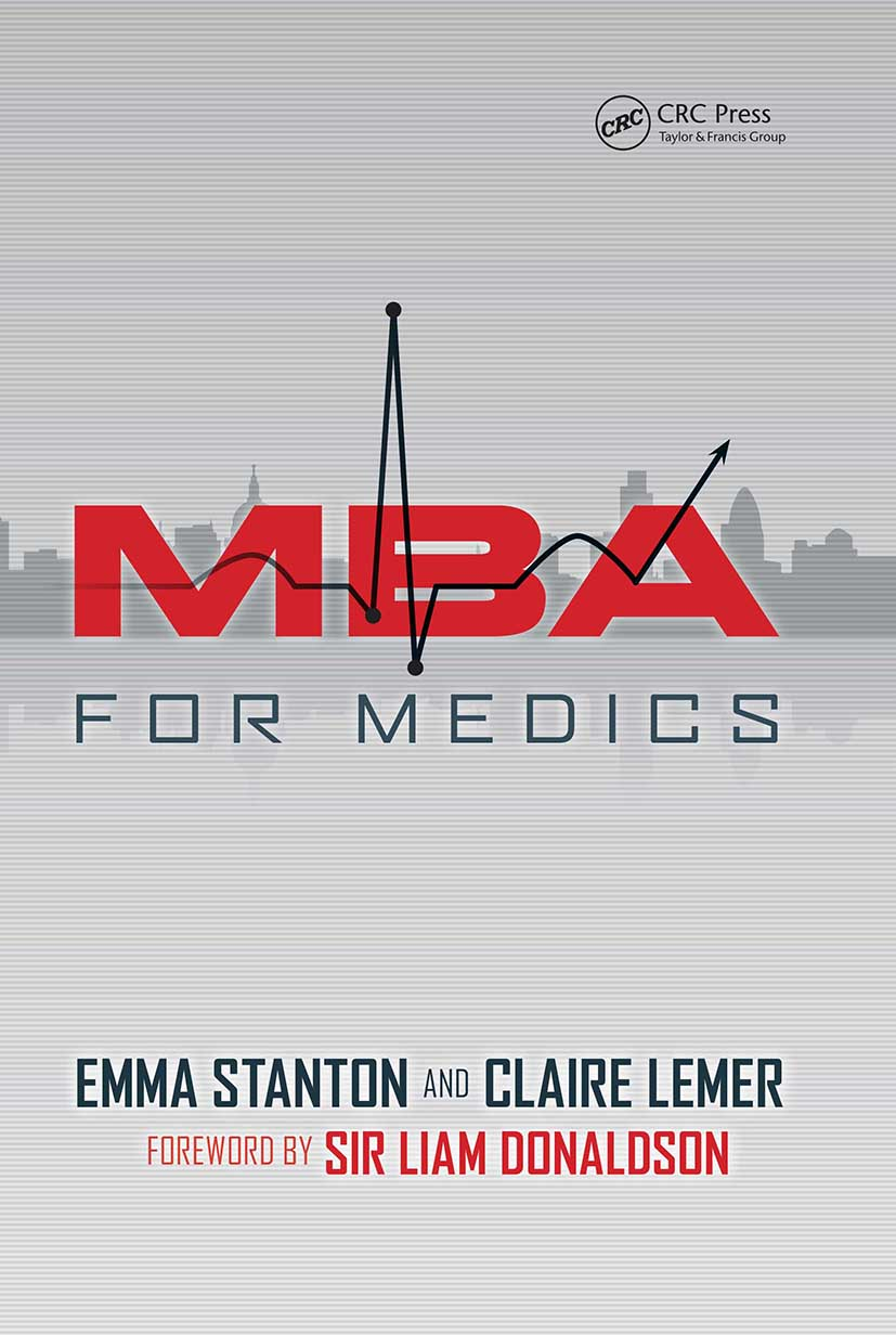 MBA for Medics: 1st Edition (Paperback) book cover