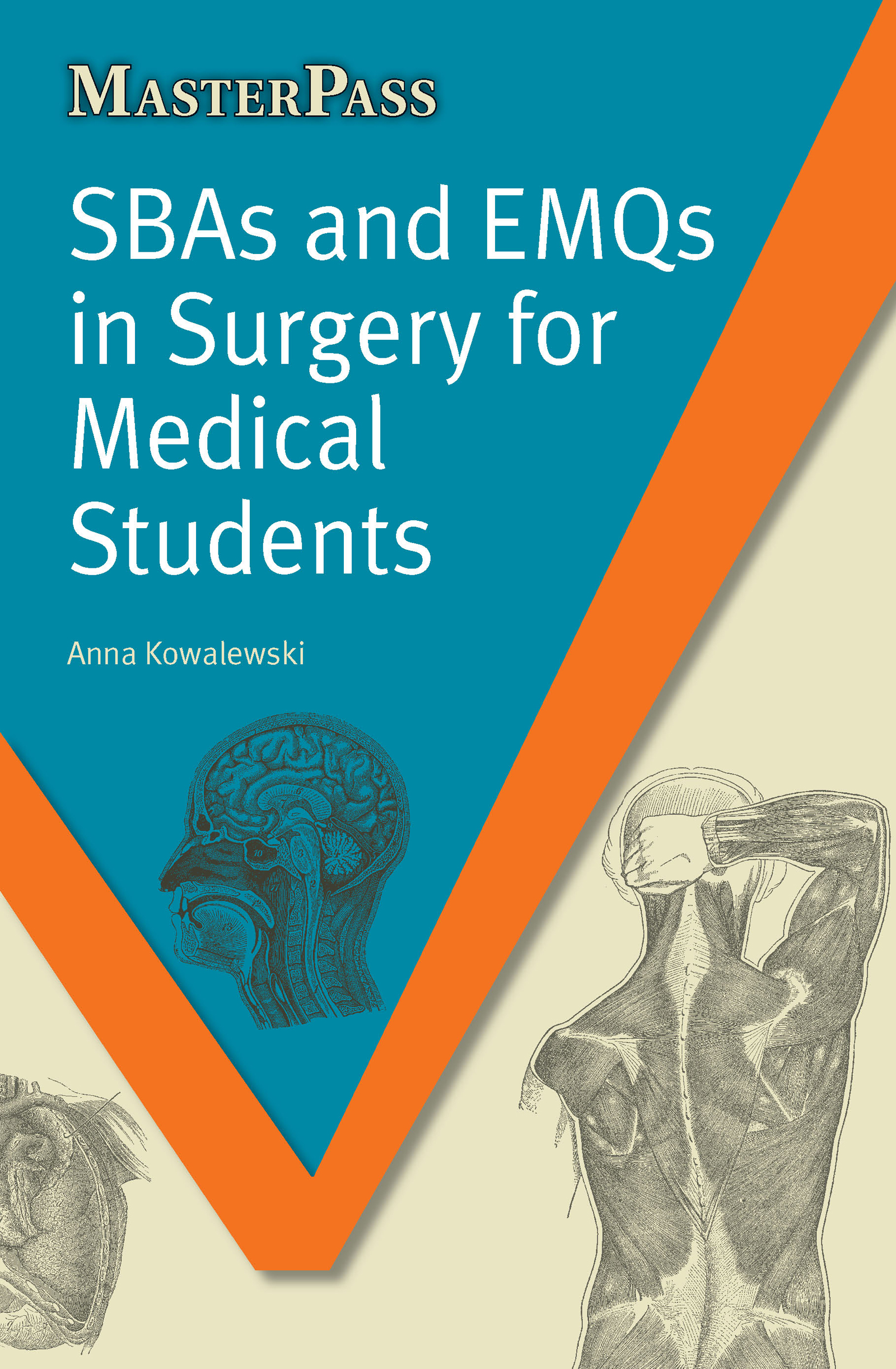 SBAs and EMQs in Surgery for Medical Students: 1st Edition (Paperback) book cover