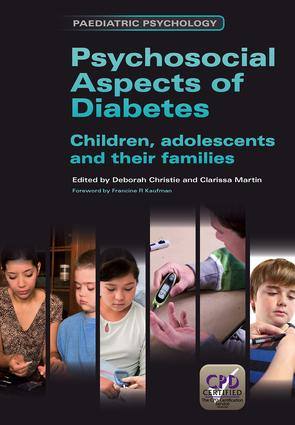 Psychosocial Aspects of Diabetes: Children, Adolescents and Their Families, 1st Edition (Paperback) book cover