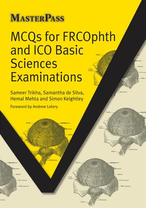 MCQs for FRCOphth and ICO Basic Sciences Examinations: 1st Edition (Paperback) book cover
