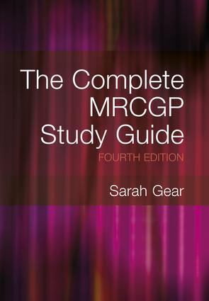 The Complete MRCGP Study Guide, 4th Edition: 4th Edition (Paperback) book cover