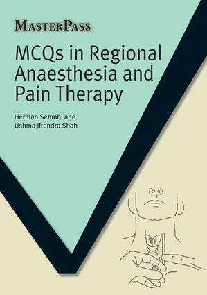 MCQs in Regional Anaesthesia and Pain Therapy: 1st Edition (Paperback) book cover