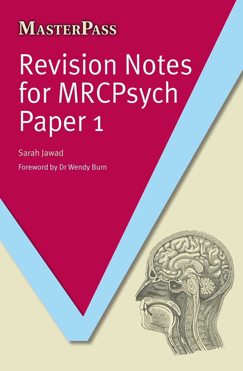 Revision Notes for MRCPsych Paper 1: 1st Edition (Paperback) book cover