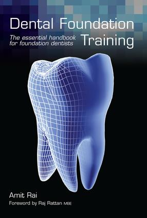 Dental Foundation Training: The Essential Handbook for Foundation Dentists, 1st Edition (Paperback) book cover