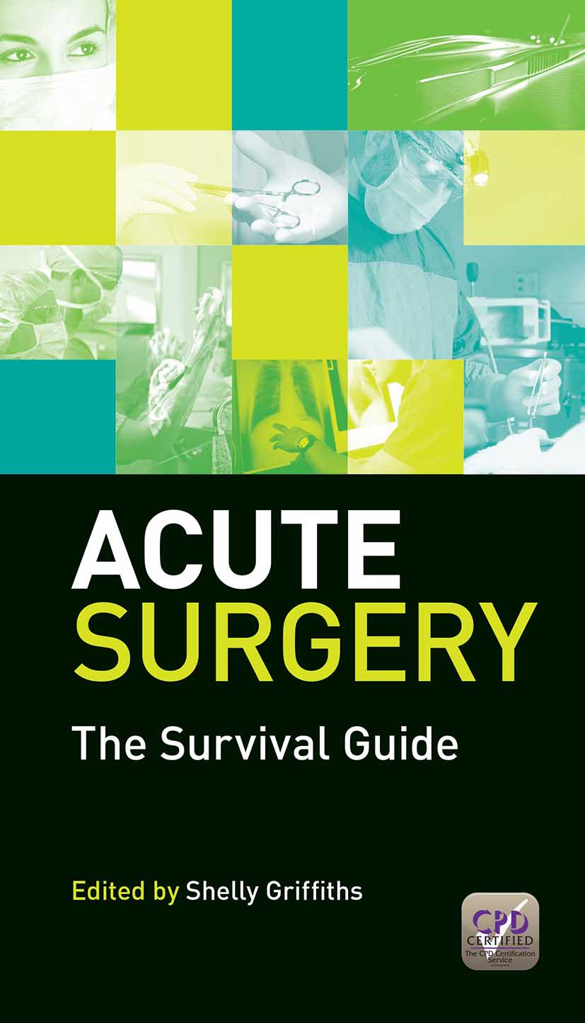 Acute Surgery: The Survival Guide, 1st Edition (Paperback) book cover