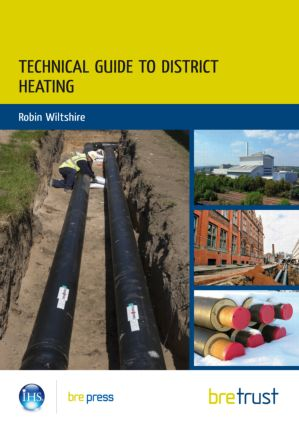 Technical Guide to District Heating (Paperback) book cover
