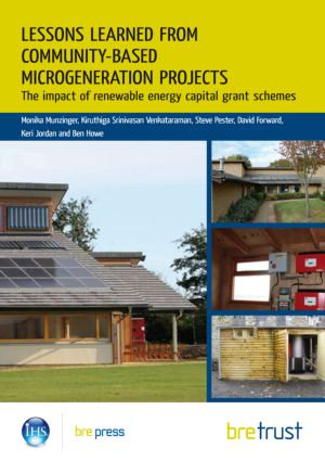 Lessons Learned from Community-Based Microgeneration Projects: The Impact of Renewable Energy Capital Grant Schemes, 1st Edition (Paperback) book cover