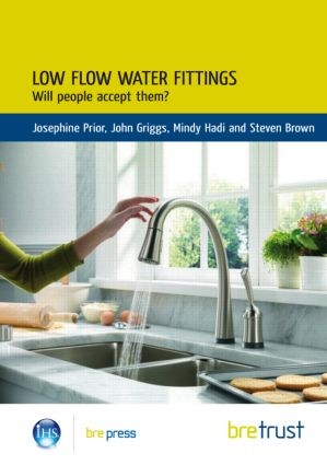 Low Flow Water Fittings: Will People Accept Them? (Paperback) book cover