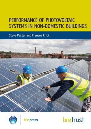 Performance of Photovoltaic Systems in Non-Domestic Buildings book cover