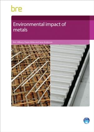 Environmental Impact of Metals: 1st Edition (Paperback) book cover