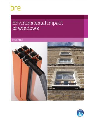 Environmental Impact of Windows: 1st Edition (Paperback) book cover