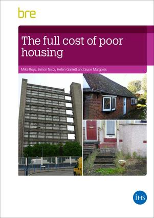 The Full Cost of Poor Housing book cover