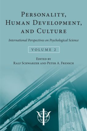 Personality, Human Development, and Culture: International Perspectives On Psychological Science (Volume 2), 1st Edition (Hardback) book cover