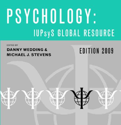 Psychology: IUPsyS Global Resource (Edition 2009) (CD-ROM) book cover