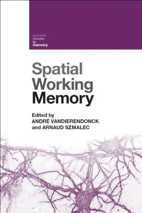 Spatial Working Memory (Hardback) book cover