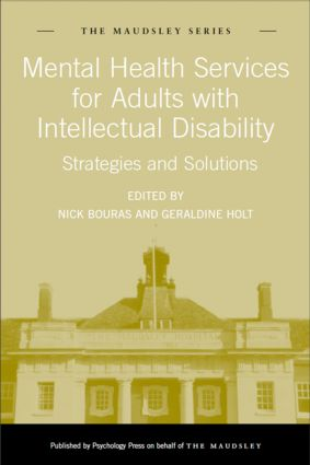 Mental Health Services for Adults with Intellectual Disability: Strategies and Solutions (Hardback) book cover