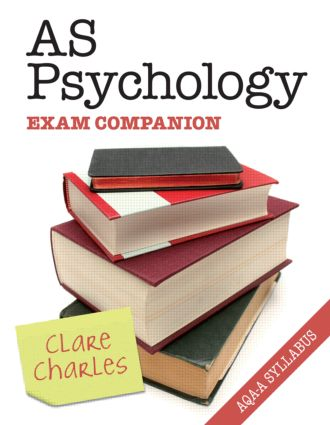 AS Psychology Exam Companion (Paperback) book cover
