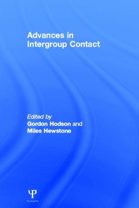 Advances in Intergroup Contact: 1st Edition (Hardback) book cover