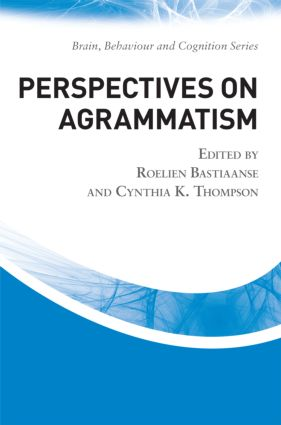 Perspectives on Agrammatism (Hardback) book cover