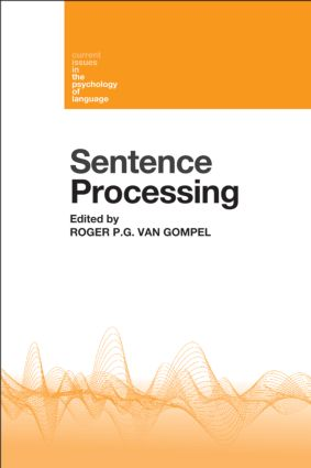 Sentence Processing (Hardback) book cover