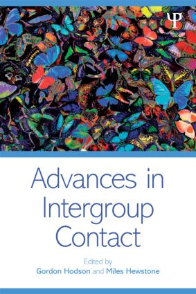 Advances in Intergroup Contact (Paperback) book cover