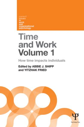 Time and Work, Volume 1: How time impacts individuals (Hardback) book cover