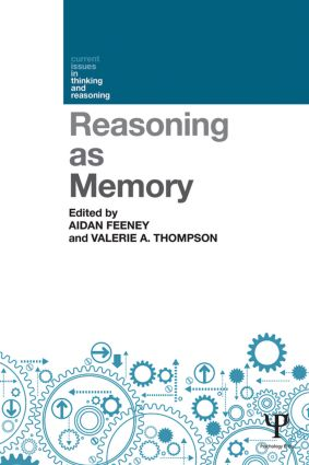 Reasoning as Memory: 1st Edition (Paperback) book cover