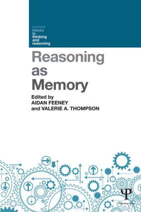 Reasoning as Memory book cover