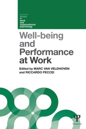 Well-being and Performance at Work: The role of context book cover