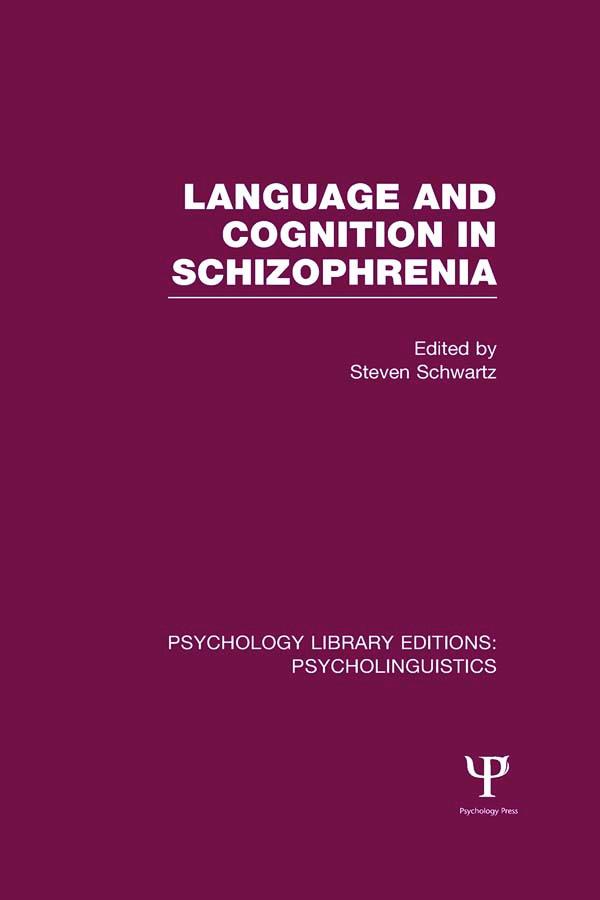 Psychology Library Editions: Psycholinguistics (Hardback) book cover