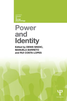 Power and Identity (Paperback) book cover