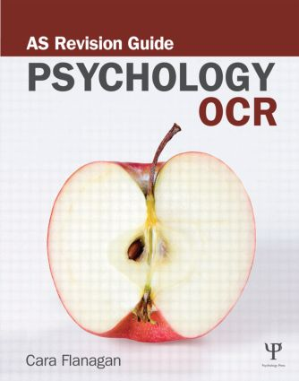 OCR Psychology: AS Revision Guide book cover