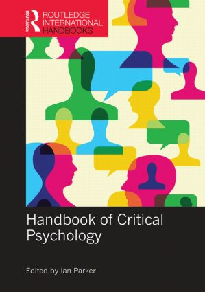 Handbook of Critical Psychology: 1st Edition (Hardback) book cover