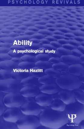 Ability (Psychology Revivals)