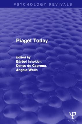 Piaget Today (Paperback) book cover