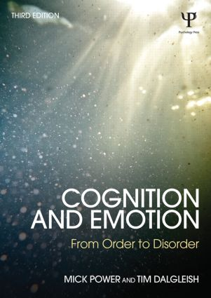 Cognition and Emotion: From order to disorder book cover