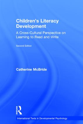 Children's Literacy Development: A Cross-Cultural Perspective on Learning to Read and Write book cover